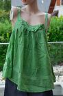 RED SOUL jolie tunique blouse verte sans manche - taille M - EXCELLENT ÉTAT