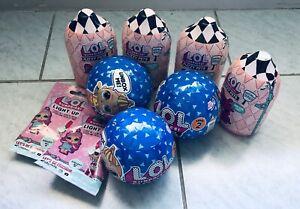 Lol L.O.L. 7 X Fuzzy Pets/ Boys Lol Surprise NEW & SEALED + 2 Light UPS! Toys