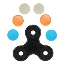 Fidget Tri Spinner Toy Prime + 6 BONUS CAPS Hand Figit Fast Cheap Cool Tri Fidg