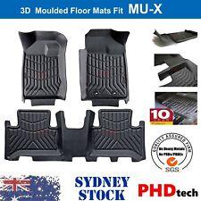 Premium Quality Tailored 3D TPE Floor Mats for Isuzu MUX MU-X 2013-2020