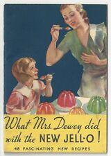 1933 Jell-O Recipe Booklet - Los Angeles, CA
