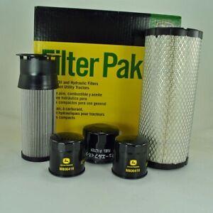 John Deere 3120, 3320, 3520, 3720 Compact Utility Filter Pak LVA14895