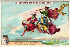 6 Cards c1901 1001 Nights Prince Ahmed and the Fairy Paribanu Arch Flying Carpet