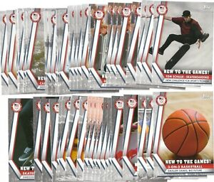 2020 2021 Topps Olympics U.S.A US New to the Games Your Card Fill Your Set