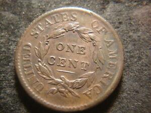 1816 XF AU  Coronet Head Large Cent  Nice Flan GSX