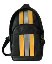 Coach Mens (F83270) Houston Messenger Varsity Stripe Sling Pack Bag $339.99