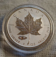 2016 Canada .999 Silver TANK Privy RCM Maple Coin In Capsule