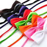 Kids Boys Clip On Bow Tie- Adjustable Dickie Bow Neck Ties Dress Party Accessory