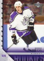 2005-06 Upper Deck Hockey #218 George Parros YG RC Los Angeles Kings