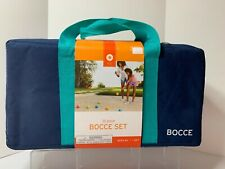 BOCCE SET 10 PIECE SET IN CARRYING BAG TARGET 2014 SUMMER FUN GIFT NEW