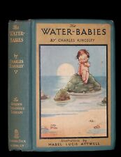 1920 Rare Book - Water-Babies, Fairy Tale for a Land-Baby Illustrated by Attwell
