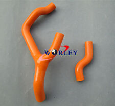 For KTM 350 SXF 350SX-F 350SXF 2011 2012 11 12 Silicone Radiator Hose orange