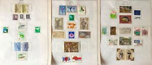 Lot of Japan 1976-1978 Stamps MH