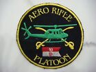 US AERO RIFLE PLATOON D TROOP 10th AIR CAVALRY RGT, VIETNAM WAR PATCH