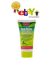 TEA TREE SKIN CLEANING GEL 30ml Blemish Spots Removal Clear Treatment UK SELLER