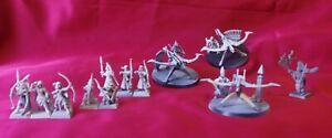 3 balistes + 9 archers Hauts Elfes / Elfes Sylvains à intégrer Warhammer Battle