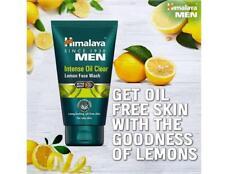 Himalaya Men Intense Oil Clear Lemon Face Wash 100 ml Free Shipping