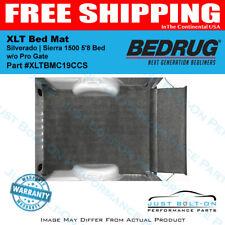 BedRug XLT Bed Mat 2019 2020 2021 Silverado | Sierra 1500 5'8 Bed w/o Pro Gate