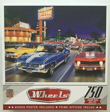 Wheels Jigsaw Puzzle Woodward Avenue NEW