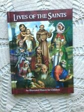 NEW CHILDREN'S CATHOLIC  LIVES OF THE SAINTS Hard-Cover 128 pages  SUPERB!