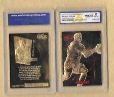 1997 FLEER MICHAEL JORDAN COURT MASTERS WCG GEM MT 10 23 KT GOLD CARD