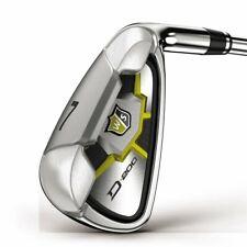 Wilson Staff D200 Golf Iron Set Right Hand 5-PW + SW Steel Uniflex (#77765)