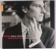 MOZART: Piano Concertos 22 & 24, David Greilsammer NAIVE CD NM