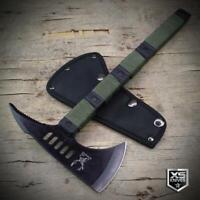"14.5"" Black Tactical Hunting TOMAHAWK Throwing AXE Combat Survival HATCHET"