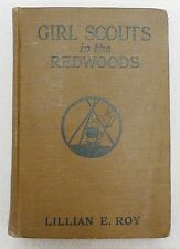 VINTAGE 1926 GIRL SCOUTS IN THE REDWOODS BOOK BY LILLIAN E. ROY