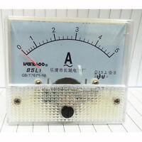 1Pcs 85L1-A Class 2.5 Accuracy AC 5A Analog Panel AMP Meter