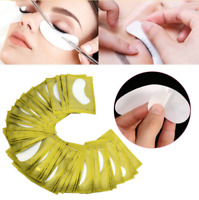 100 Pairs LINT FREE Under Eye Gel Pads Patch Eye Mask Tool For Eyelash Extension