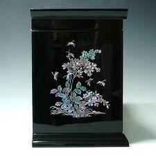 Boîte à Bijoux Coffre 6Tiroirs Miroir Rangement Bague Cadeau Fête des Mères Asie