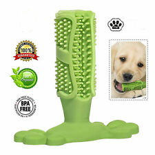 High Quality Dog Toy Toothbrush Chew Toy Dental oral Care Brush Stick Rubber Pet