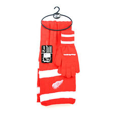 Detroit Red Wings Winter Scarf & Glove Set