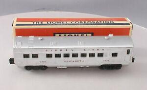 Lionel 2435 Vintage O Lionel Lines Elizabeth Passenger Car/Box
