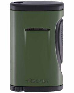 XiKAR 541GN Xidris Single Torch Flame Cigar Cigarette Lighter Olive Drab Green
