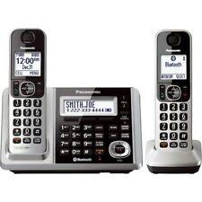 Panasonic KX-TGF372S Link2Cell-Bluetooth 2 Cordless Phones w Answering Machine