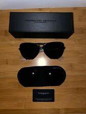 Porsche Design Sunglasses P'8678 Titanium Frame Interchangeable Lenses BRAND NEW