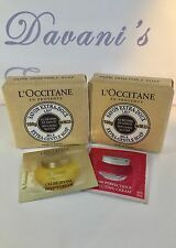 L'Occitane Shea Butter Milk Extra-Gentle Soap! :)  3.5 oz each! W/extra Samples!
