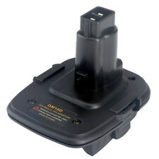 Battery Adapter for Dewalt DM18D Converter Milwaukee Battery to Dewalt Tools
