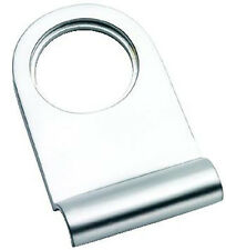 Satin Chrome Victorian Rounded Yale Lock Surround / Door Pull (SCP106)
