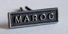 Agrafe barrette militaire MINIATURE, MAROC, 14 x 4 mm pour médaille ou rappel.