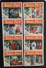 Angel Face Original Lobby Card Set Jean Simmons - Mitchum *Hollywood Posters*