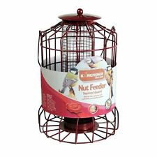 BIRD NUT FEEDER SQUIRREL GUARD WIRE CAGE SQUIRREL PROOF PROTECTS FEED FEEDING