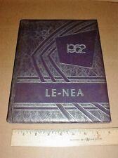 1962 Contentnea Kinston High School Yearbook Lenoir County NC North Carolina