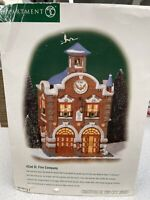 "Dept56 Christmas In The City "" 42nd ST. FIRE COMPANY "" 2000 -2005  #58914"