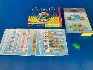CONTACTOR Vintage 1990 Jeu de société Électronique Jeux Nathan 6/8 Ans Complet