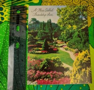 Greeting Card Unused A Place Called Friendship Lane Garden Path