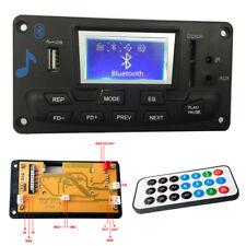 Kfz Bluetooth MP3 Player Liedtext Record SD Card Decoder USB AUX FM Verstärker