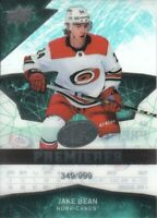2018-19 Upper Deck Ice Hockey #68 Jake Bean RC /999 Carolina Hurricanes